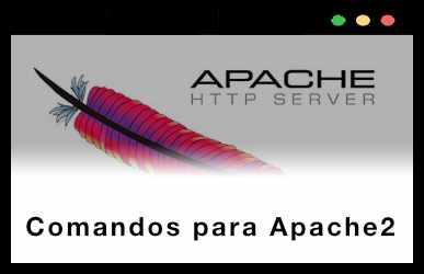 Comandos para Apache2